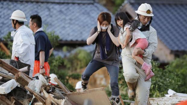 News outlets in Japan question belated flood response