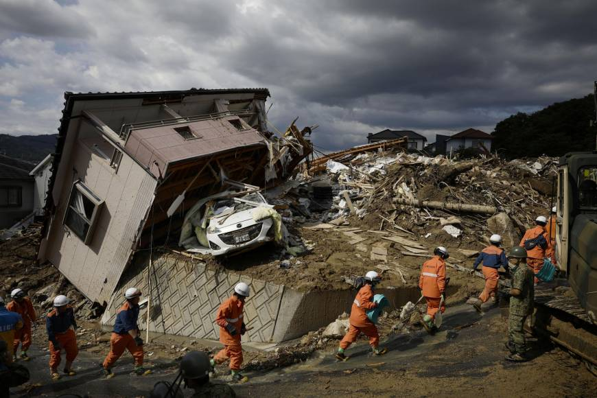 Let's discuss the flooding disaster in western Japan