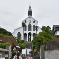 Keeping the faith: Oura Cathedral in Nagasaki, the oldest surviving church in the country, was among the sites added to the World Heritage list last month. | KYODO