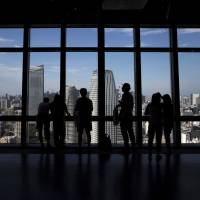 The bullish corporate view from Tokyo implies that perhaps a global  trade spat won't hurt as much as some people have feared. | BLOOMBERG