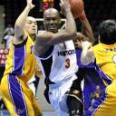Former Osaka Evessa star Billy Knight, seen in a 2011 file photo, died of an apparent suicide on Sunday in Phoenix. He also played for the Hamamatsu Higashimikawa Phoenix, Hyogo Storks and Yamagata Wyverns in the Japan pro ranks.