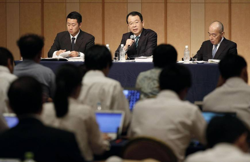 Independent committee rules Nihon University President Hidetoshi Tanaka ultimately responsible for illegal tackle scandal