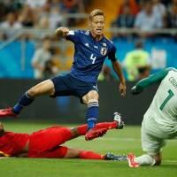 Keisuke Honda says he has played in final World Cup of his career