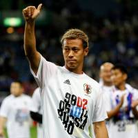 Keisuke Honda is joining with Will Smith on a venture fund of around $100 million. | REUTERS