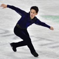 Denis Ten, seen here at the 2015 Four Continents in Seoul, earned the bronze medal at the Sochi Olympics and was a two-time world medalist. | AFP-JIJI