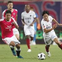 Antlers strike twice in second half to down Cerezo, but lose Gen Shoji to ankle injury