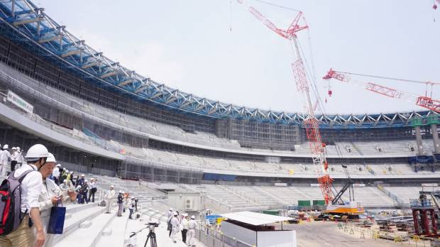 Progress on new National Stadium going as planned