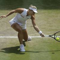 Angelique Kerber storms into second Wimbledon final with quick demolition of Jelena Ostapenko