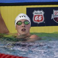 Katie Ledecky victorious in 800-meter freestyle at U.S. national championships