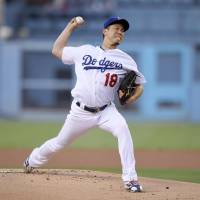 Kenta Maeda chased early in loss to Brewers