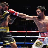 Manny Pacquiao KOs Lucas Matthysse in seventh to reach 60 wins