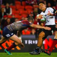 Reds clobber Sunwolves in season finale