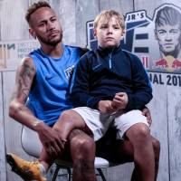 Neymar looks back at World Cup