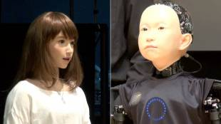 [VIDEO] Introducing androids Erica and Ibuki, by Hiroshi Ishiguro