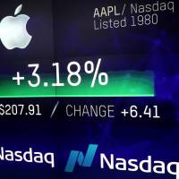 Apple becomes first private-sector company to reach landmark $1 trillion valuation
