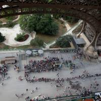 Eiffel Tower shuts as workers strike over 'monstrous' visitor lines