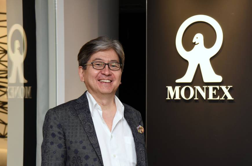Monex chief sees cryptocurrency future for finance industry