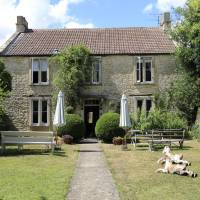 Country house: Fosse Farmhouse in the Costwolds, England, was the setting for the anime series 'Kin-iro Mosaic.' | KYODO