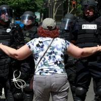 Portland police chief orders review of officers' use of force at anti-fascist protest