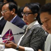 Asian envoys denounce 'real threat' of global trade war at ASEAN summit