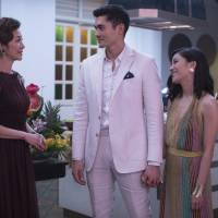 Michelle Yeoh, Henry Golding and Constance Wu in a scene from 'Crazy Rich Asians' | AP