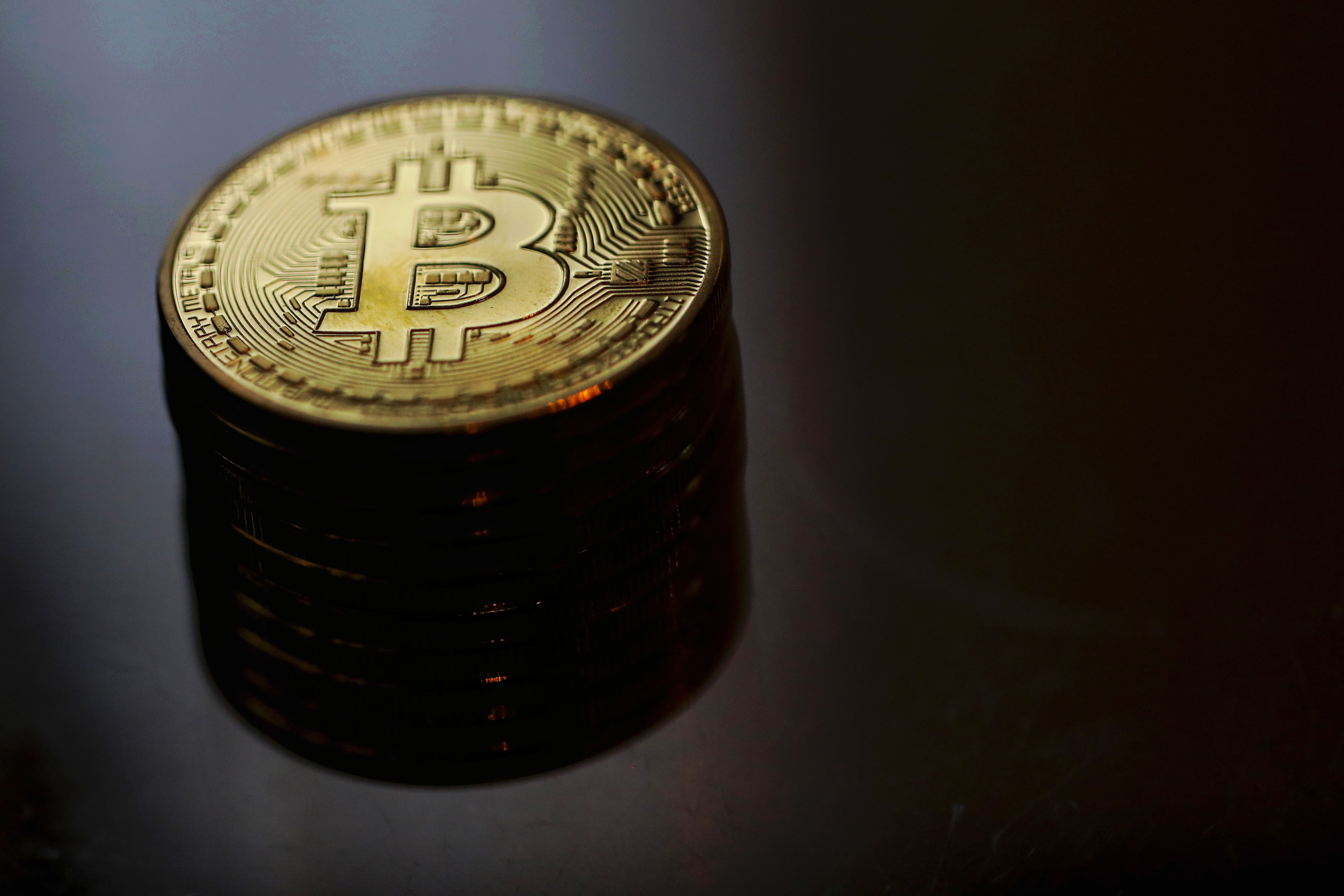 Bitmain, a Chinese company that makes most of the world's Bitcoin-mining rigs — as well as a big pile of mining and cryptotrading profit — is thinking about a stock-market listing. | BLOOMBERG
