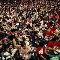 Hundreds of Philippine mums join mass breastfeeding event to highlight child health benefits