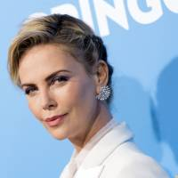 Actress Charlize Theron attends Amazon Studios' world premiere of 'Gringo' in Los Angeles in March. | AFP-JIJI