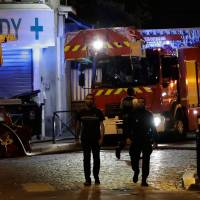 Five kids said fighting for life after French blaze 100 firefighters battled