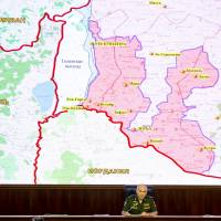 U.N. peacekeepers back on Golan Heights-Syria frontier, accompanied by Russian military police