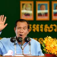 Cambodia strongman Hun Sen swears on his life that vote numbers not inflated, says he will address U.N.