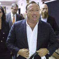 Conspiracy theorist Alex Jones booted from YouTube, Facebook, Apple and Spotify