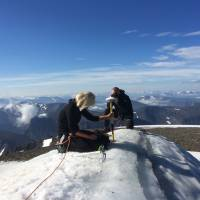 Sweden's highest peak now No. 2 due to climate change