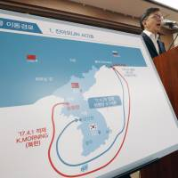 Seoul reports on illegal imports of North Korean coal