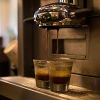 Espresso is brewed at a Starbucks in Gimpo, South Korea. | BLOOMBERG