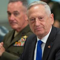 Mattis says 'no decision' has been made on future U.S.-South Korea drills