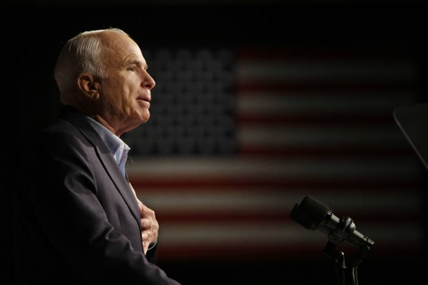 War hero, senator, GOP presidential candidate John McCain dies at 81