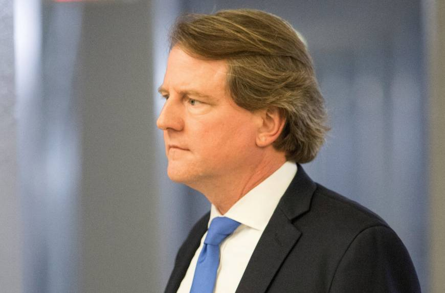 Trump: White House counsel Don McGahn to depart in the fall