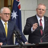 Australia's new prime minister, evangelical Christian Scott Morrison, best known for opposing immigrants and managing economy