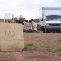 Raid to save 11 starving kids at New Mexico desert compound opens tale of guns and exorcism