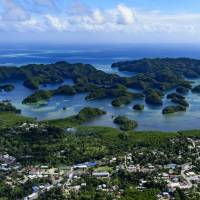 In the city of Koror, the largest population center in Palau, the Chinese pullback can be felt. Hotels and restaurants stand empty, travel agencies are boarded and boats which take tourists to Palau's green, mushroom shaped Rock Islands are docked at the piers. | GETTY IMAGES
