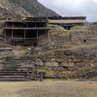 The Chavin de Huantar archaeological site, 462 km north of Lima, is seen Monday. | PERUVIAN MINISTRY OF CULTURE / VIA AFP-JIJI