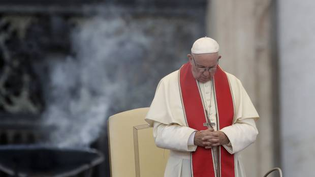 Pope decrees death penalty 'inadmissible' in all cases in change to church teaching