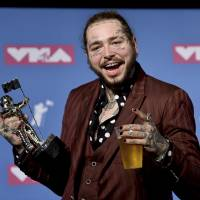 Rapper Post Malone's jet lands safely in New York after two tires blow on takeoff