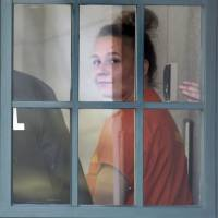 Reality Winner walks out of a courthouse in Augusta, Georgia, on Thursday after being sentenced to more than five years in prison. | (MICHAEL HOLAHAN/THE AUGUSTA CHRONICLE / VIA AP/