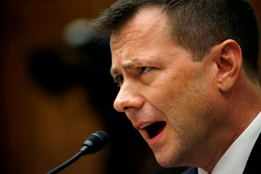 FBI agent Peter Strzok, whose anti-Trump texts sparked an uproar, is fired