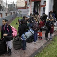 100 Venezuelan migrants in Peru accept government offer for free flight home