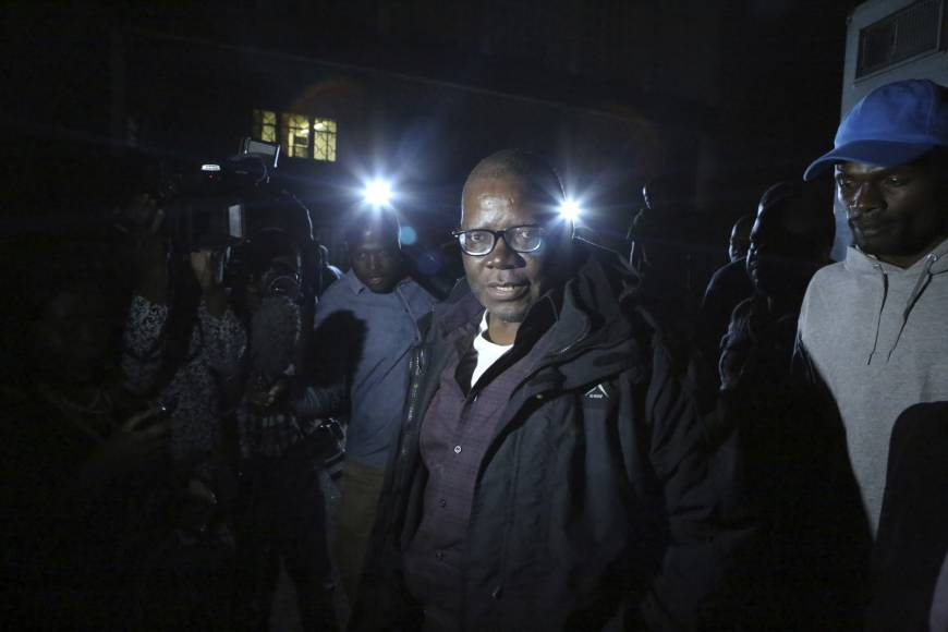 Zimbabwe charges opposition leader Tendai Biti with inciting violence over election