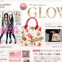 Glow magazine advocates the kawaii otona look