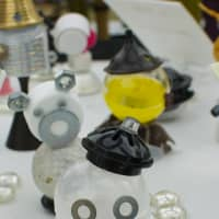 All the nuts and bolts make it into this project in the Student Exhibition Area.